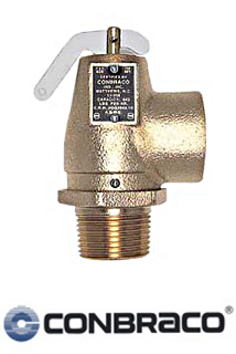 "Conbraco Model 13-202-B15 Steam Safety Valve 1"" x 1"""