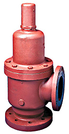 "Kunkle 3"" x 3"" Model 228 Iron Relief Valves for Liquid Service"