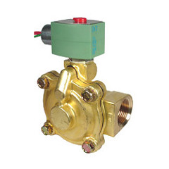 "Asco 1-1/2"" NPT NC 2-Way Hot Water/Steam Solenoid Valve"