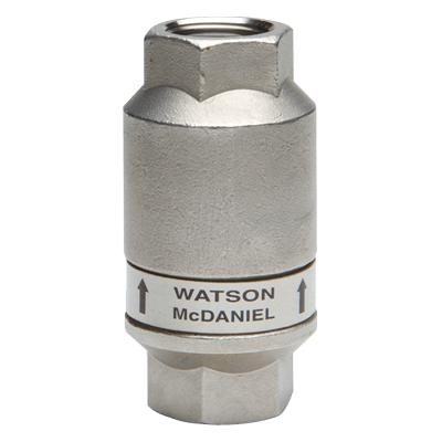 "Watson McDaniel AV2000 Series 1/2"" Stainless Thermostatic Air Vent"