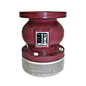 "Titan FV-50-DI Ductile Iron, 4"" 150# Flanged, Foot Valve"