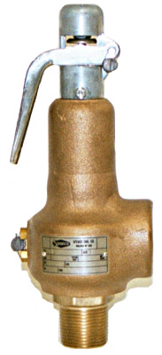 "Spence Fig. 31 & 41 Steam Safety Relief Valve 1"" x 1"""