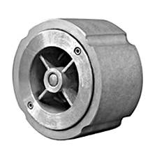 "Titan CV 91-SS 2-1/2"" Stainless Wafer Style Silent Check Valve"