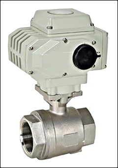 "Heat-Timer ETV Platinum Plus 1½"" Electrically Actuated Ball Valve"