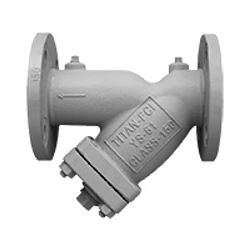 "Titan YS 61-CS Cast Steel, 4"" 150# Flanged, Y Strainer"